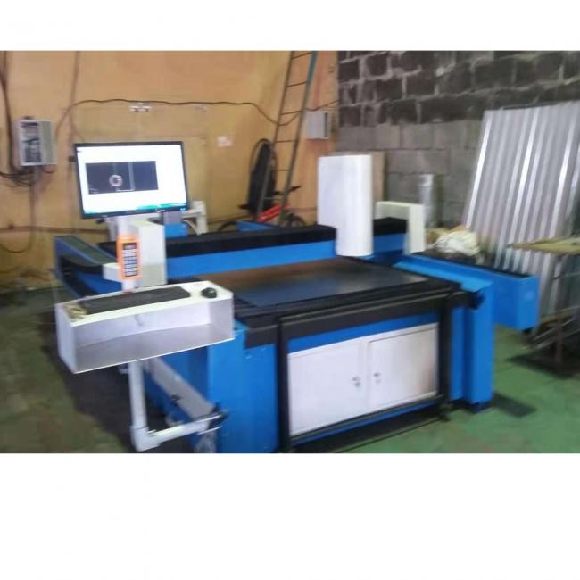 diy fiber laser cutting machine by russia customer