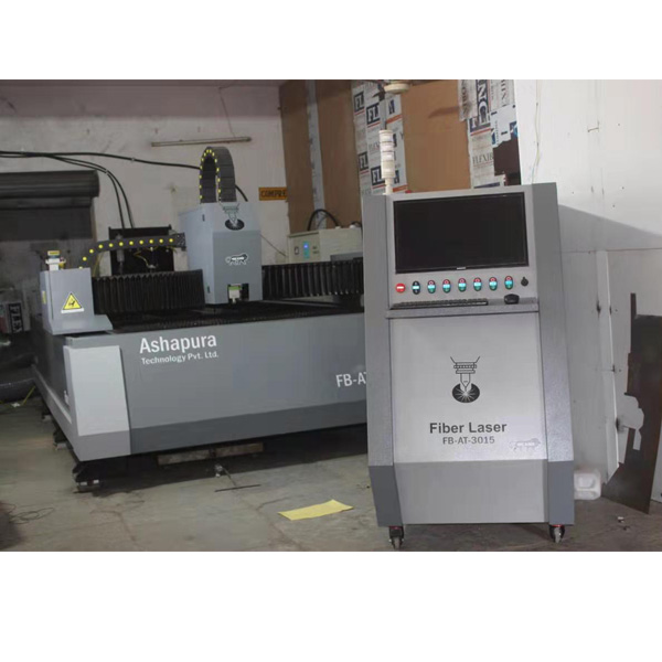 fiber laser cutting machine by india customer