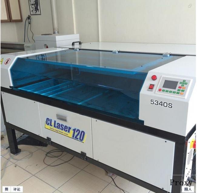 co2 laser cutting machine made by turkey customer