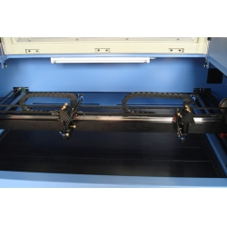 Leather cloth laser engraving and cutting machine
