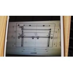 直线方轨整机单头双头激光雕刻切割机配件