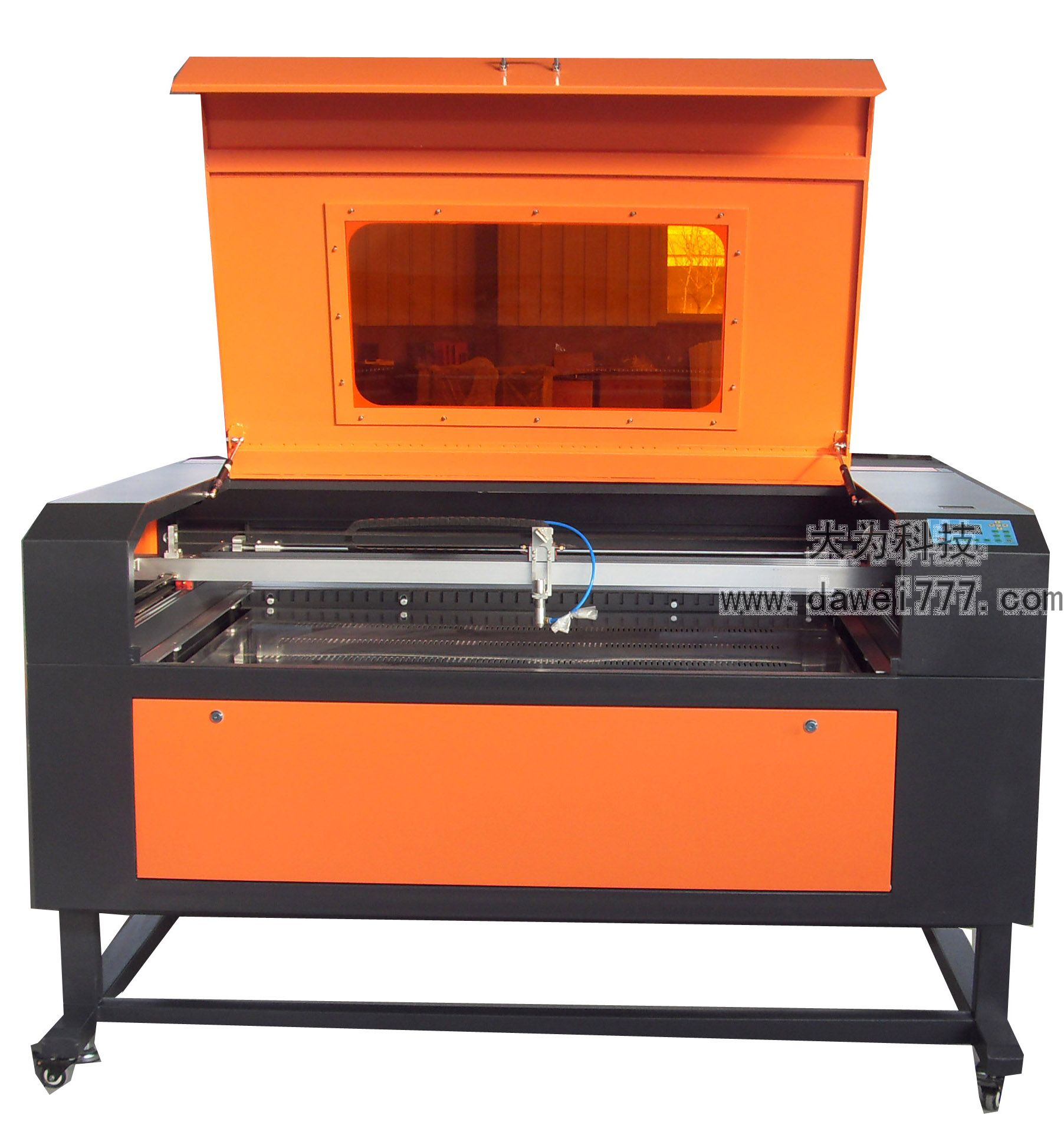 co2 laser engrave and cut machine