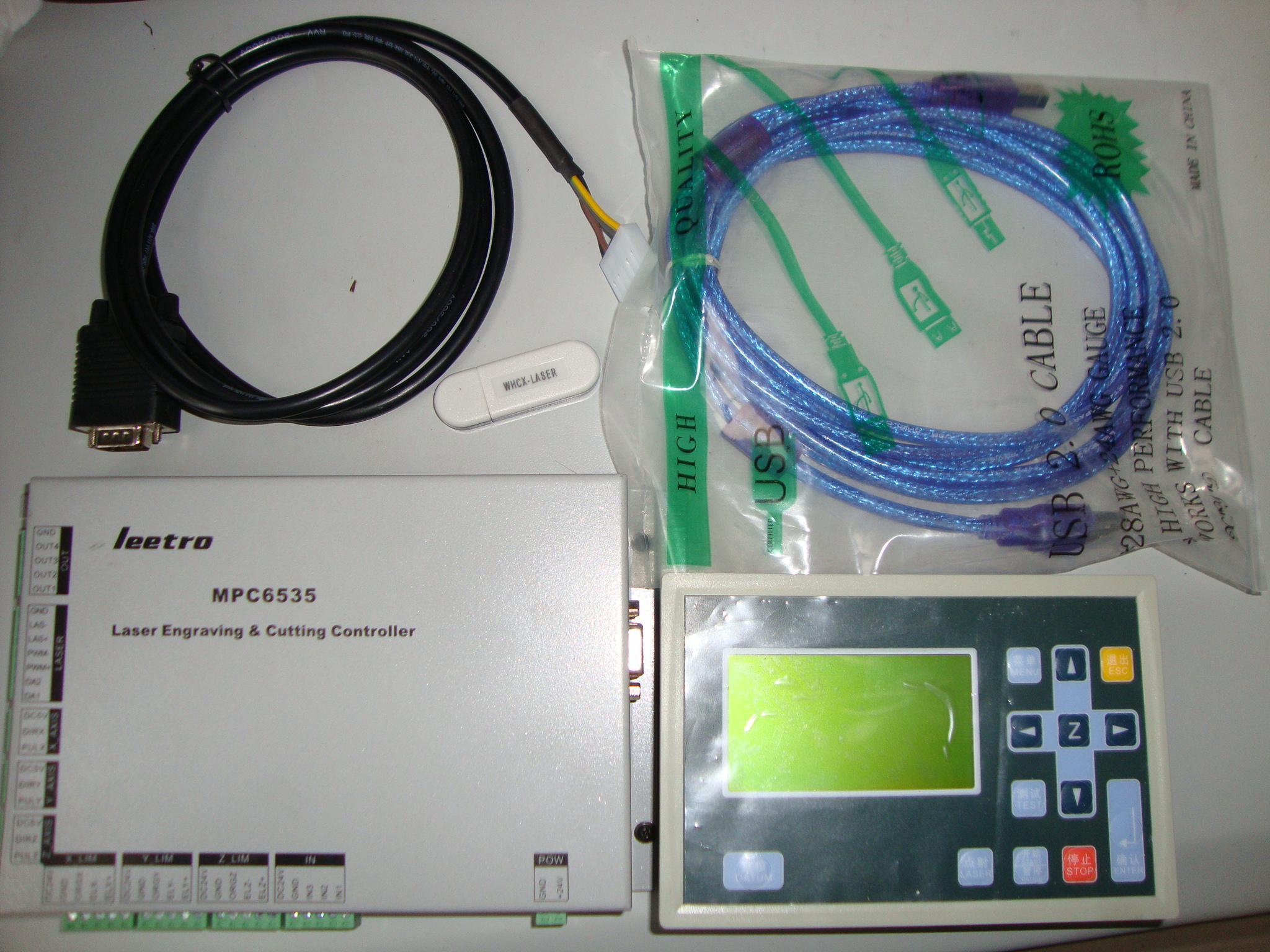 二氧化碳激光雕刻机控制系统