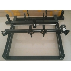 double outside slider rail single head double head whole set parts