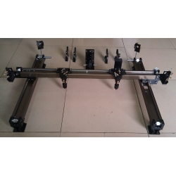 double inside slider rail single head double head whole set parts